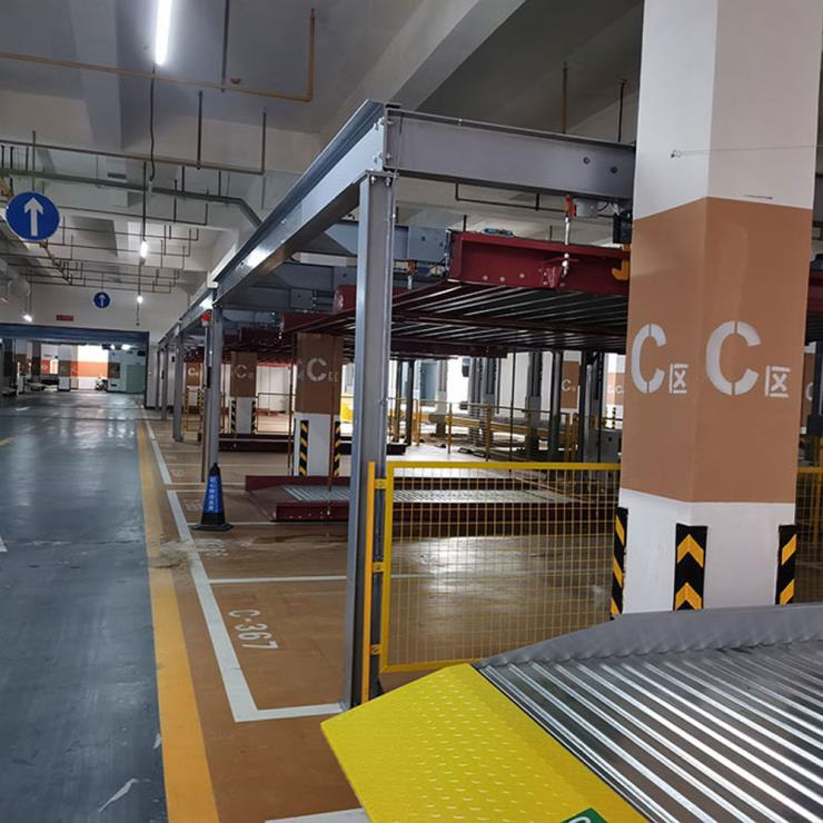 四川巴塘停车位租赁 两柱机械式立体停车设备加工