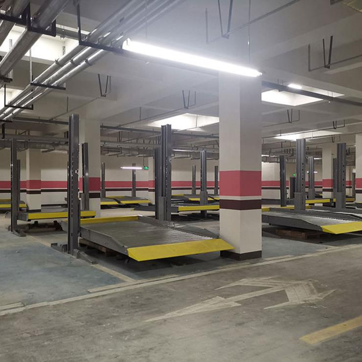 普格县停车位租赁 简易式机械停车库制作