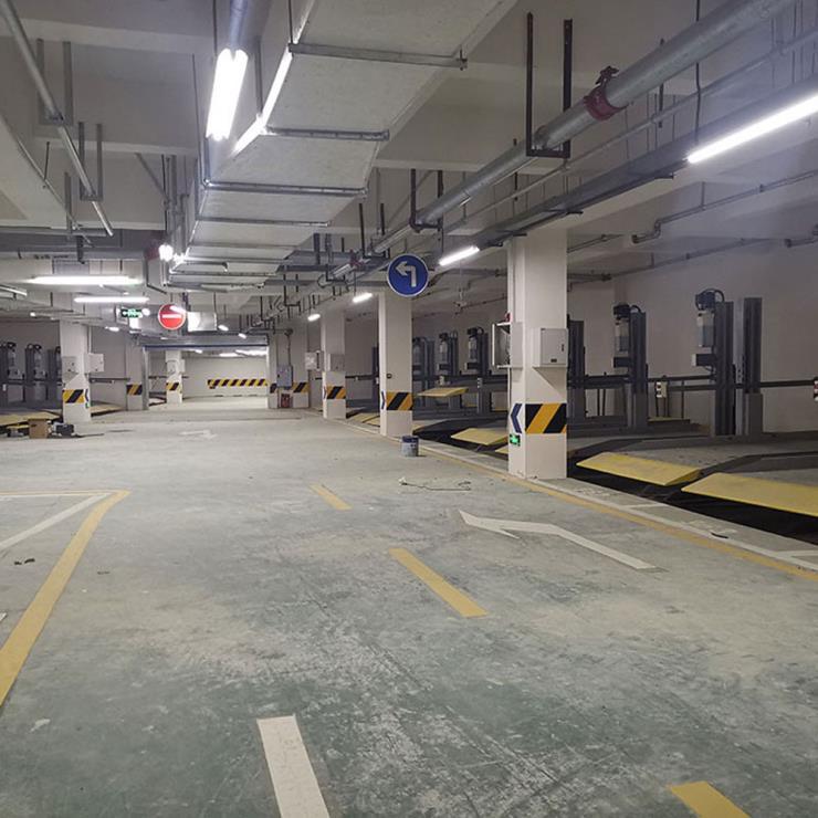 重庆市铜梁区停车位租赁 四柱机械式立体车库制作