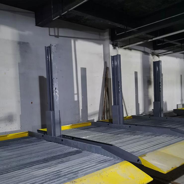 罗江区停车位租赁 两层机械立体停车设备制作