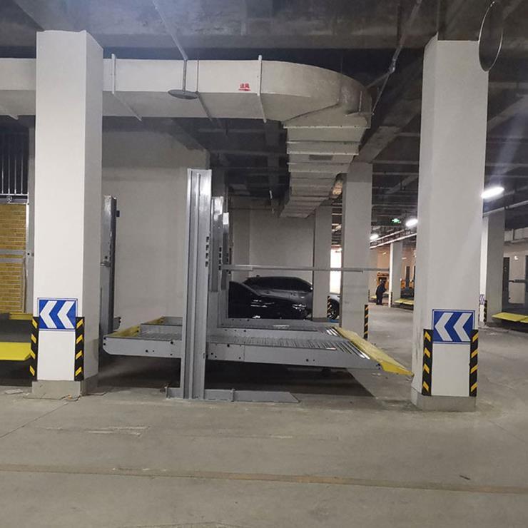 毕节金沙停车位租赁 单列式机械车位制作