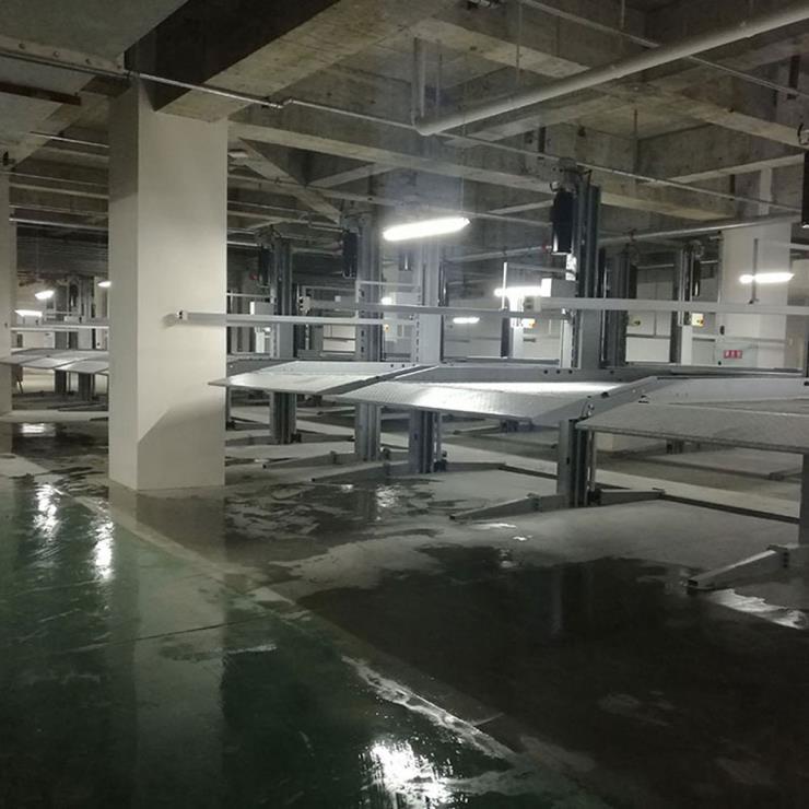 营山县停车位租赁 PPY机械停车制作