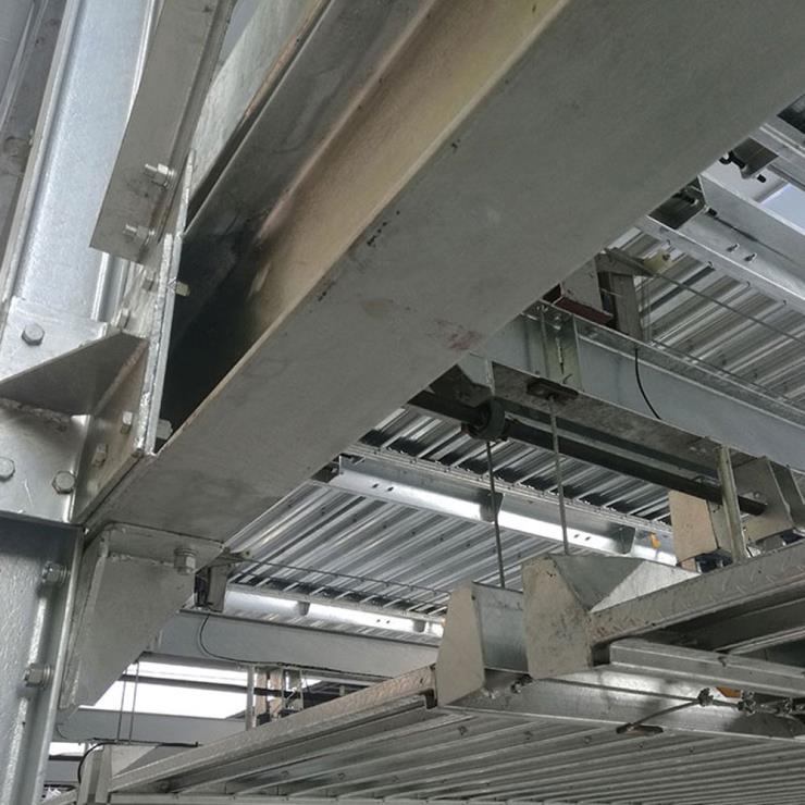 重庆渝北区停车位租赁 3层立体车库制造