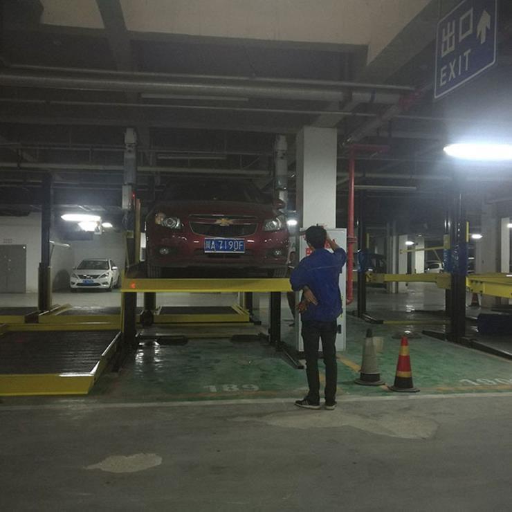 贵州松桃停车位租赁 莱贝停车位过验收