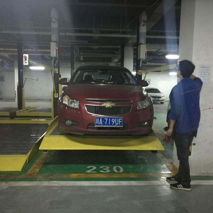 富平停车位租赁 液压机械停车设备加工