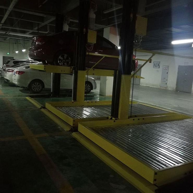 昆明市东川区停车位租赁 上下机械式停车位制作