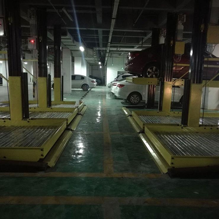 安康镇坪停车位租赁 简易升降式机械式停车位制作