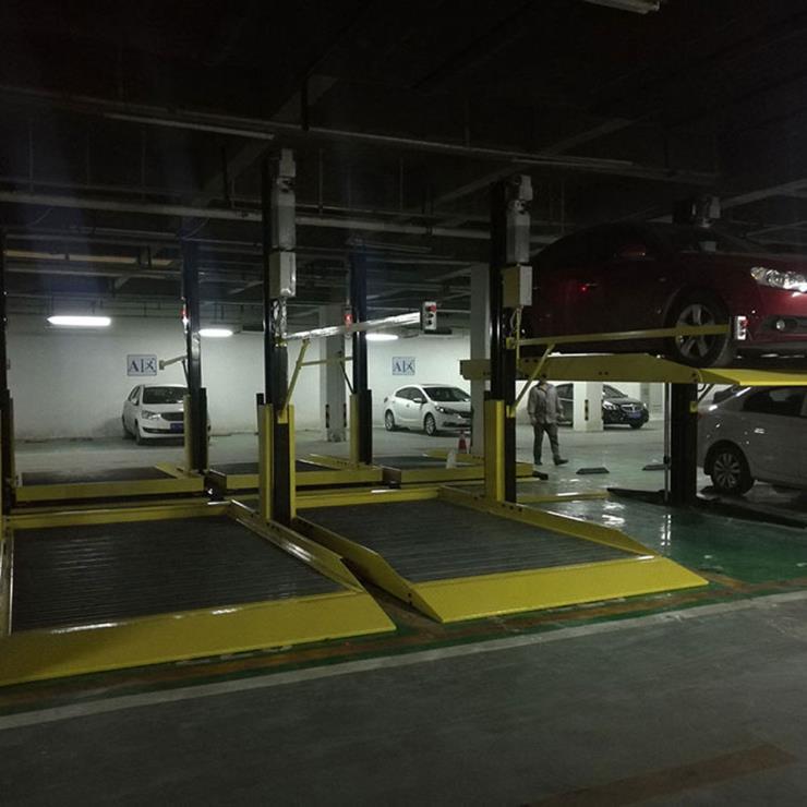 眉县停车位租赁 莱贝立体停车场租用