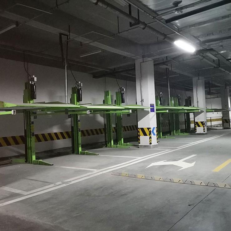 德阳市广汉停车位租赁 两柱式机械停车位制造