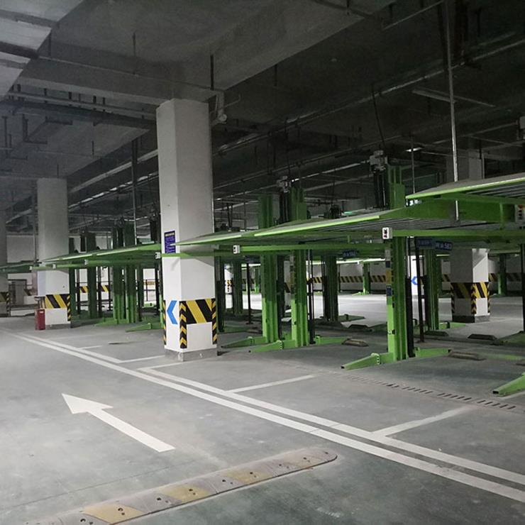 陕西省勉县停车位租赁 2柱立体停车制造