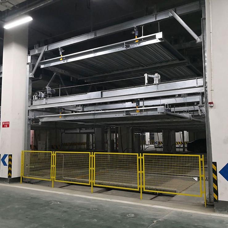 昆明市寻甸县停车位租赁 穿越式机械停车场制造