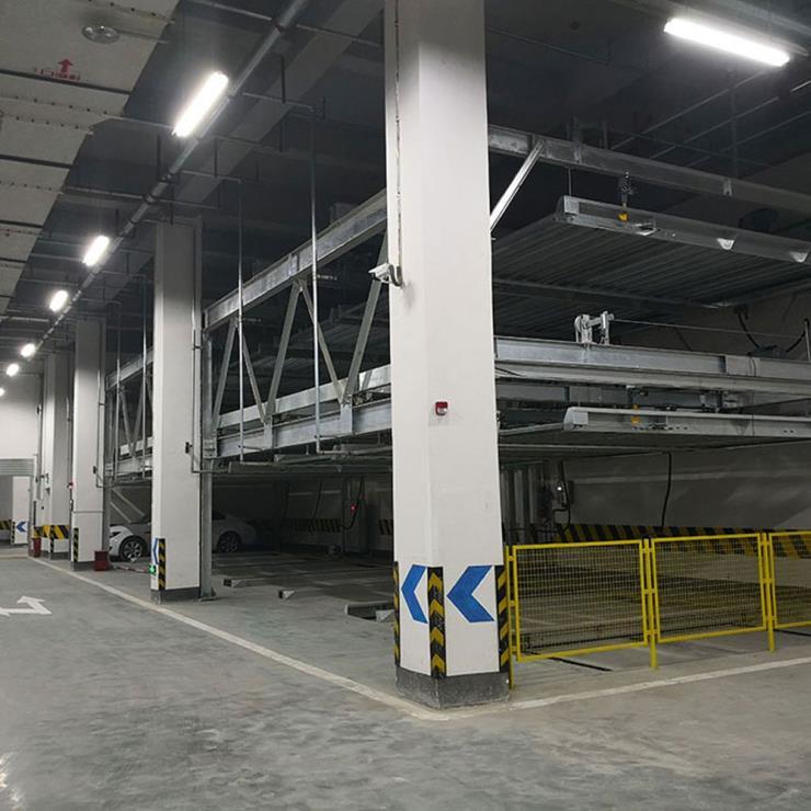 三原停车位租赁 莱贝机械立体车库回收