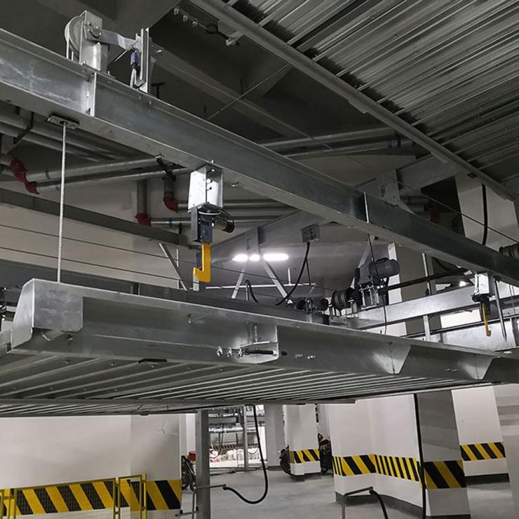 昭通威信县停车位租赁 简易升降机械式立体停车设备制作