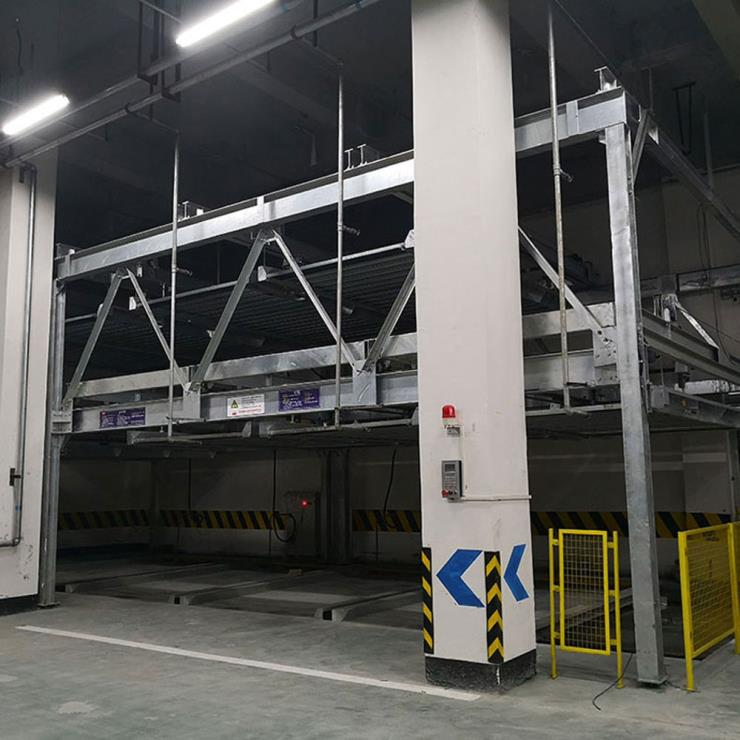 商洛山阳停车位租赁 垂直升降式停车位制造