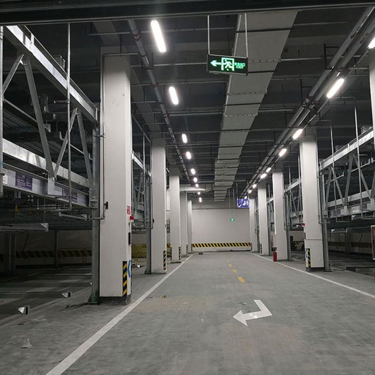云南临沧停车位租赁 垂直升降机械立体停车设备制造