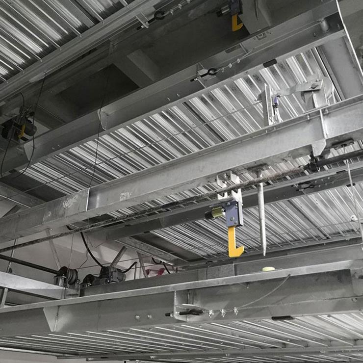 毕节威宁停车位租赁 单列式机械式立体停车设备制作