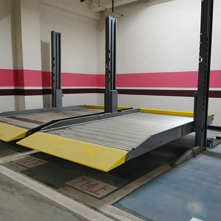 梁河停车位租赁 垂直升降式停车制作
