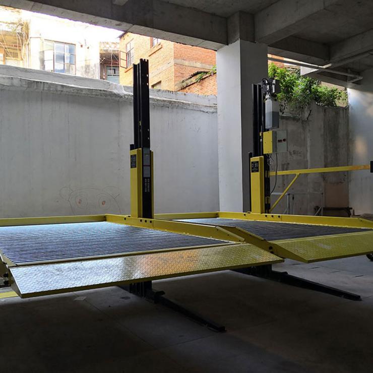 乐山市峨眉山停车位租赁 液压机械立体车库制作