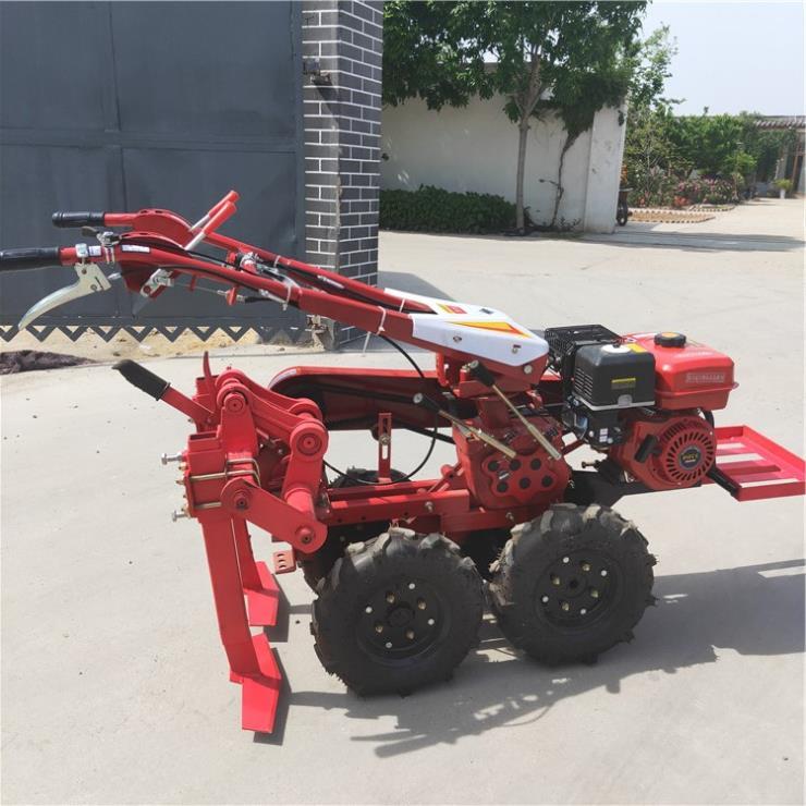 前置式大蒜收獲機家用四輪帶動起蒜機