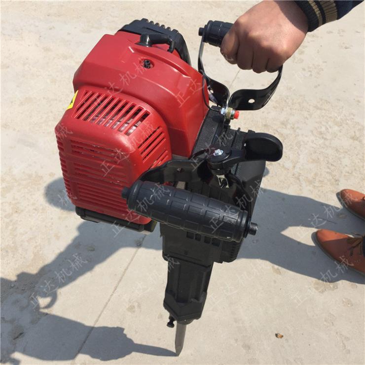 固原手提式挖坑破碎机汽油电锤工程