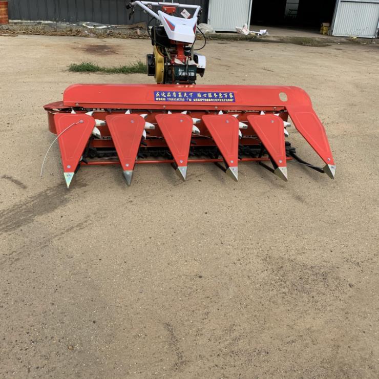 鐵嶺水稻麥子割曬機手扶式割稻機
