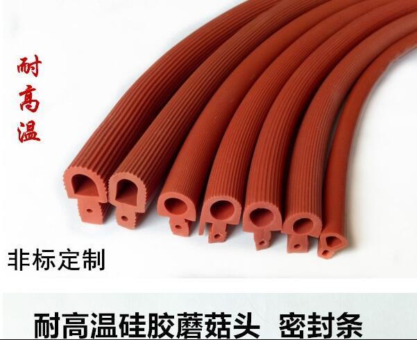 硅胶条机械密封条 高温硅橡胶条