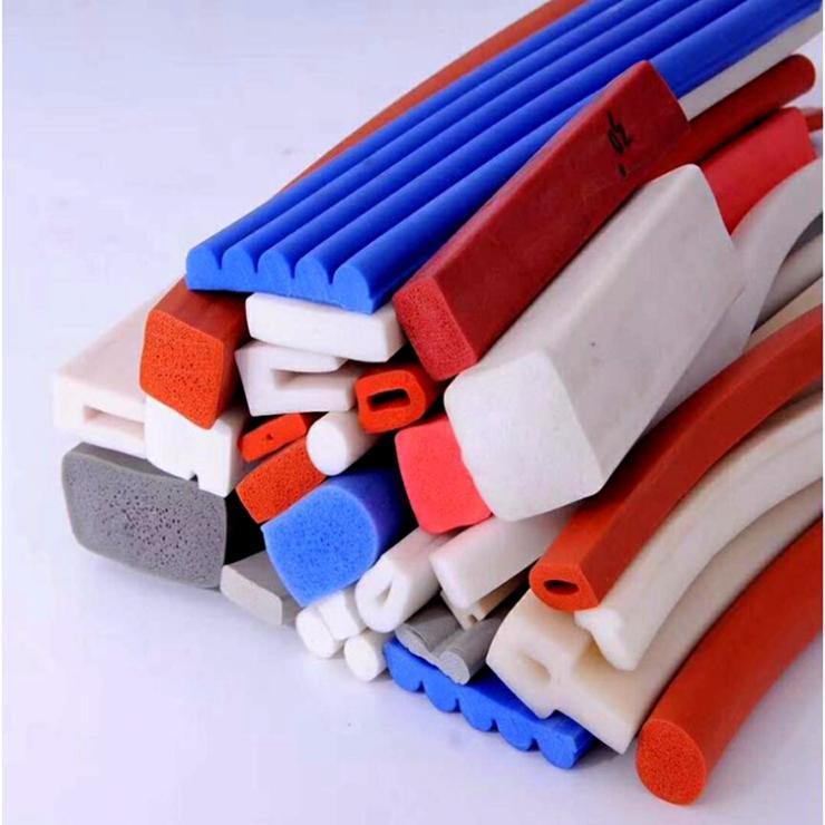 硅胶条 方形硅胶发泡条 可订做异型
