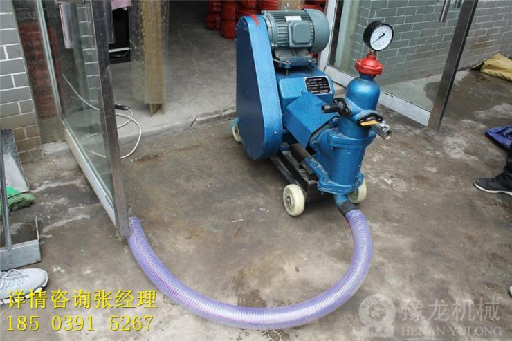 湖北雙液變量注漿泵工藝施工