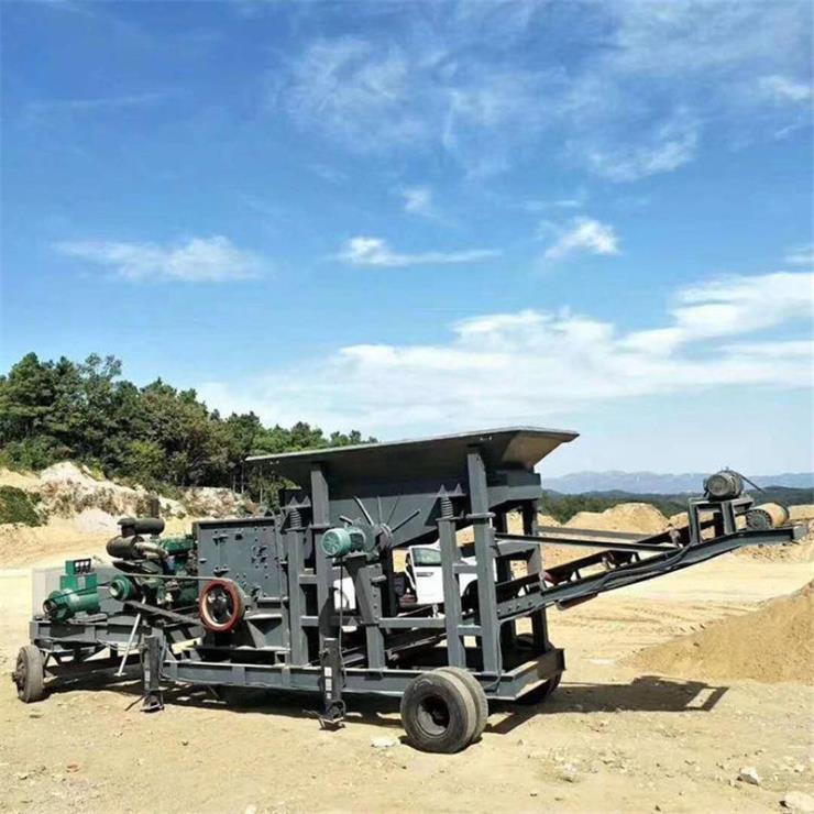 內蒙古移動一體式制砂機廠家直銷