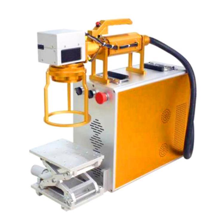 厂家供应电子元器件激光打码机铭牌标牌打标机生产厂家瑞丰
