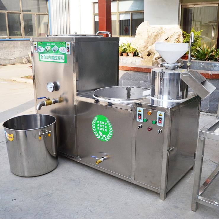 多功能豆腐机 大型豆腐机生产线 山东厂家