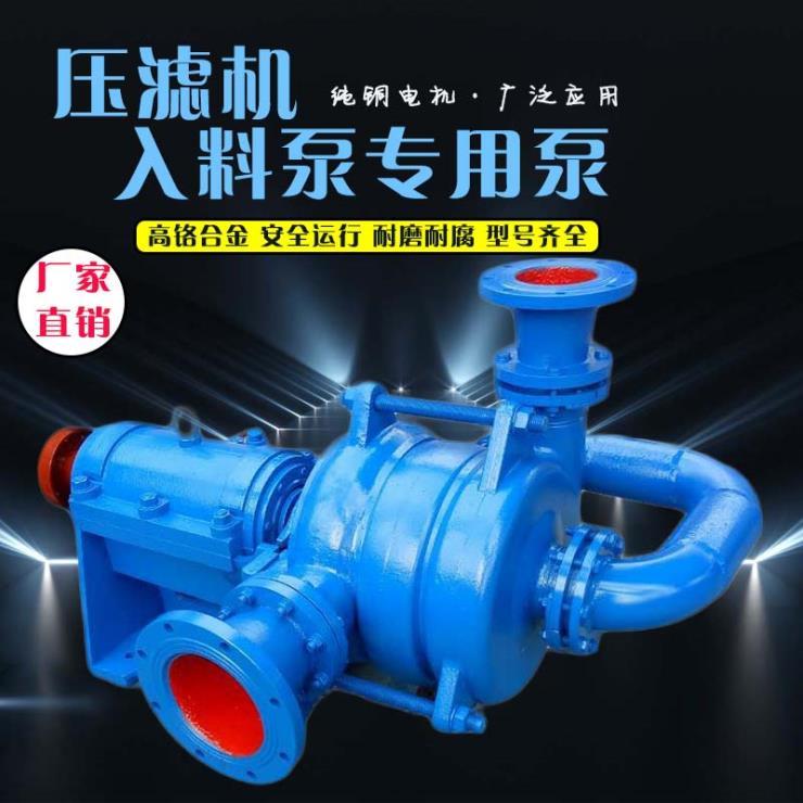 45千瓦压滤机泵煤泥压滤机专用泵