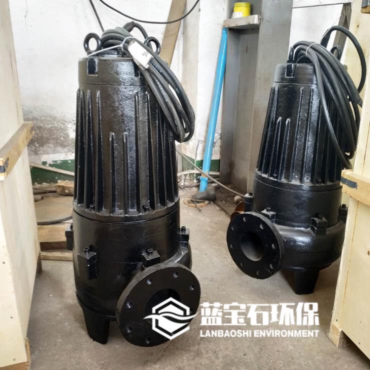 大通道无堵塞潜水排污泵QW提升泵