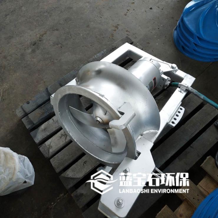 QJB-W型污泥回流泵 螺旋桨式穿墙泵