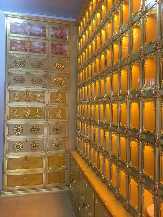 德阳寺庙地宫骨灰盒存放架来图加工