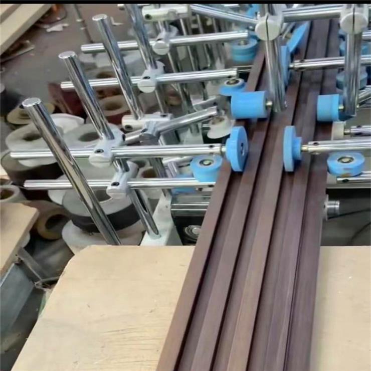 惠销木格栅包覆机 集成墙板包覆机