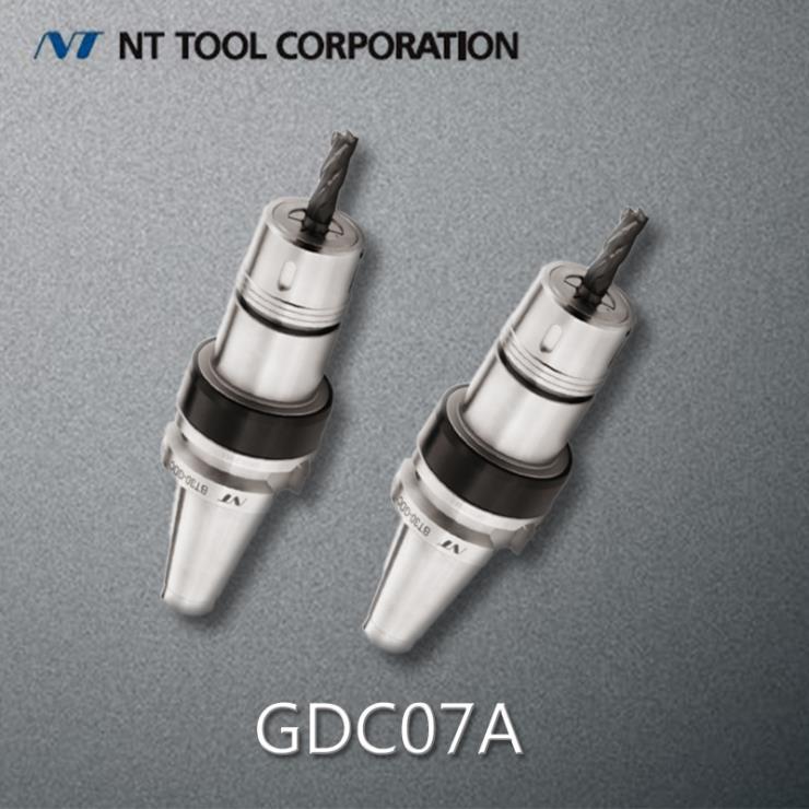 日本NT工具高精度简夹刀柄GDC07A