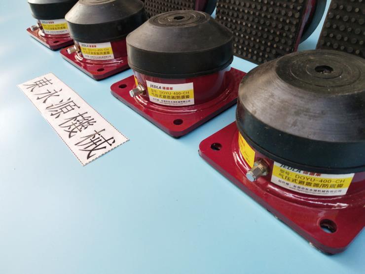 油压机防震胶 震动测试机减震脚垫 选锦德莱