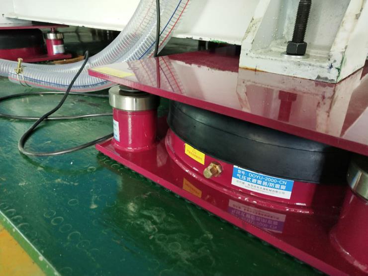 WENZEL测量仪气垫隔振器 食品包装内衬冲床防震脚