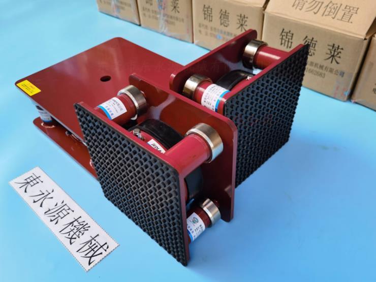 廣州樓上機器防震腳墊,真空泵基礎用減振器 找東永源