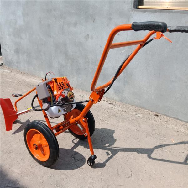 农用四冲除草机 汽油手推式割草机 大动力割灌机