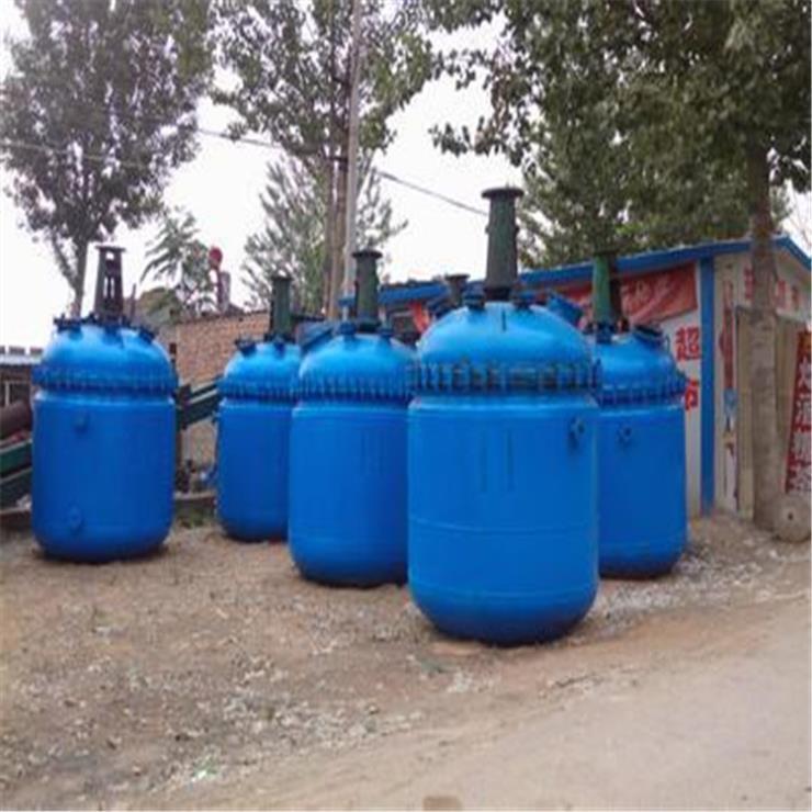 全国回收开式搪玻璃反应釜 不饱和树脂反应釜 设备