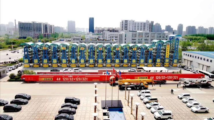 紹興門機提梁機:衛華120噸門機提梁機