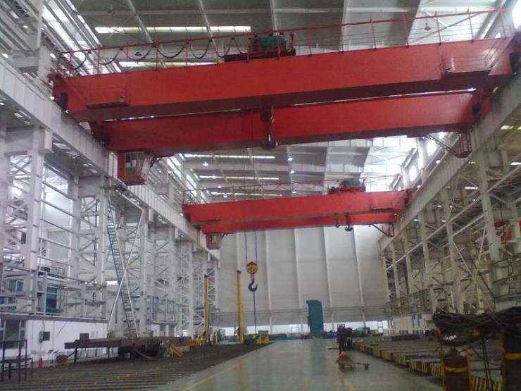 道外礦山用10噸19.5米單梁龍門起重機