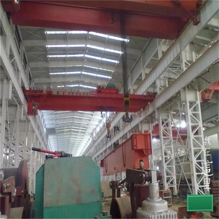 山西LDA型40吨7.5米电动单梁起重机轨道起重机制造厂家