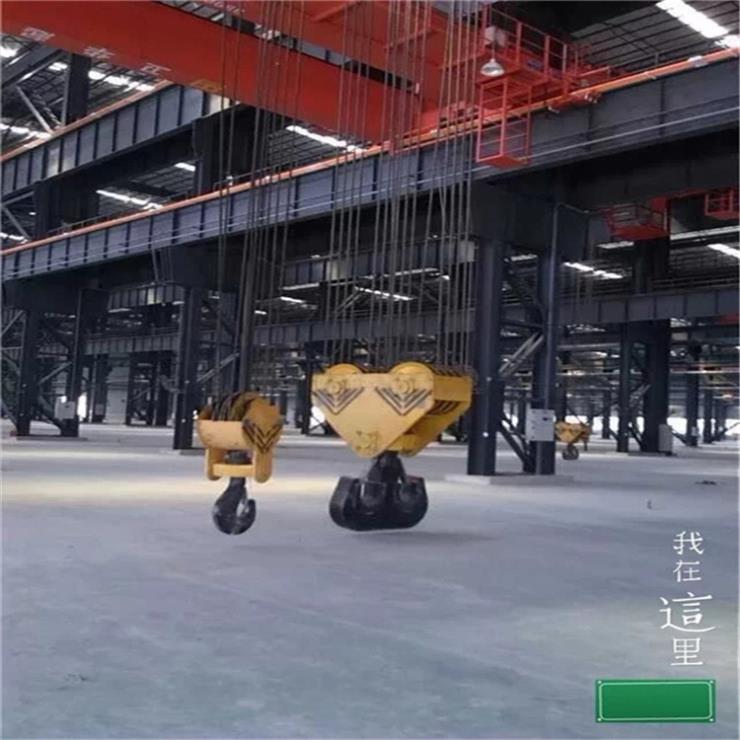 山西LDA型40吨7.5米电动单梁起重机起重机视频公司