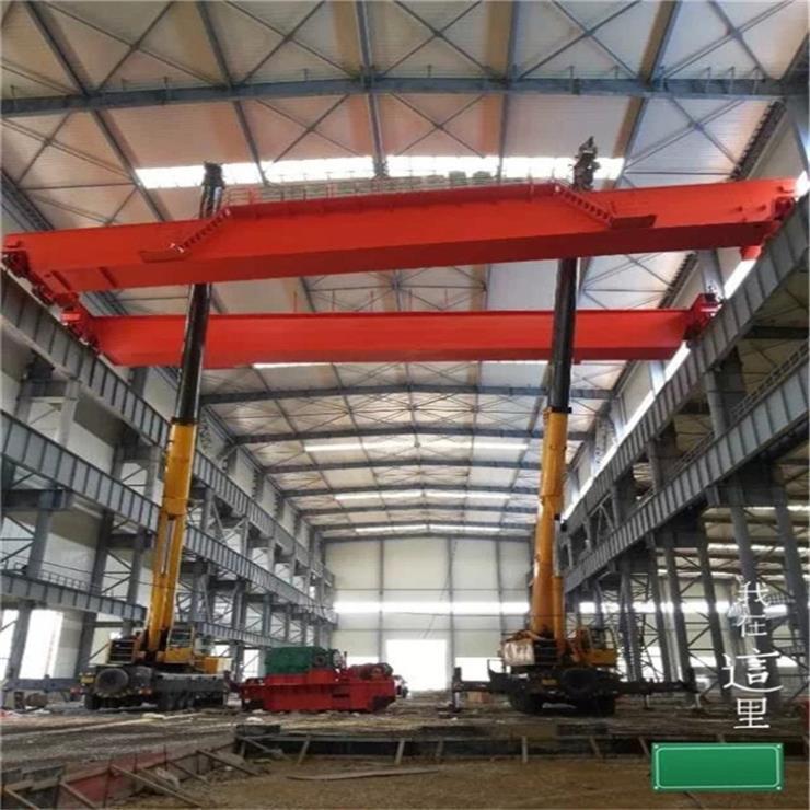 山西LDA型40吨7.5米电动单梁起重机集装箱起重机公司