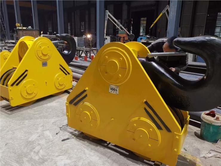 耐腐蚀环境QY型100吨抓斗起重机