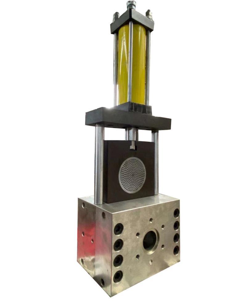 厂家批发造粒挤出机液压换网器