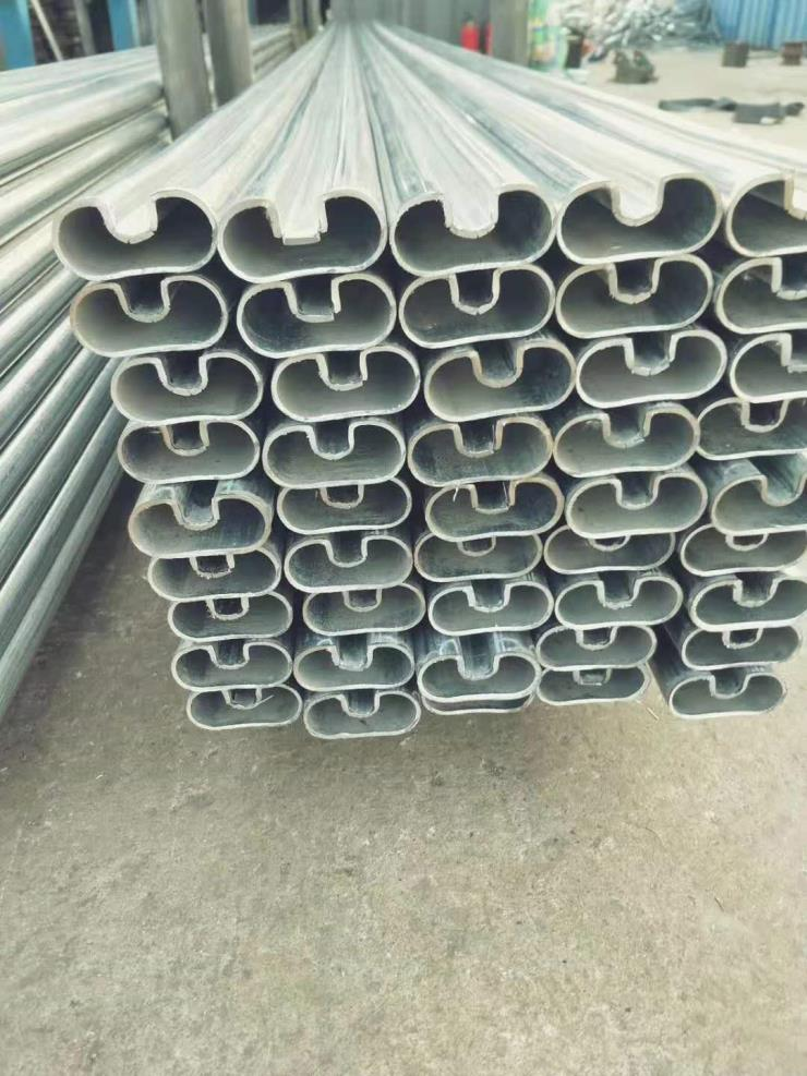 扇形管55*55方管中折弯角扇形